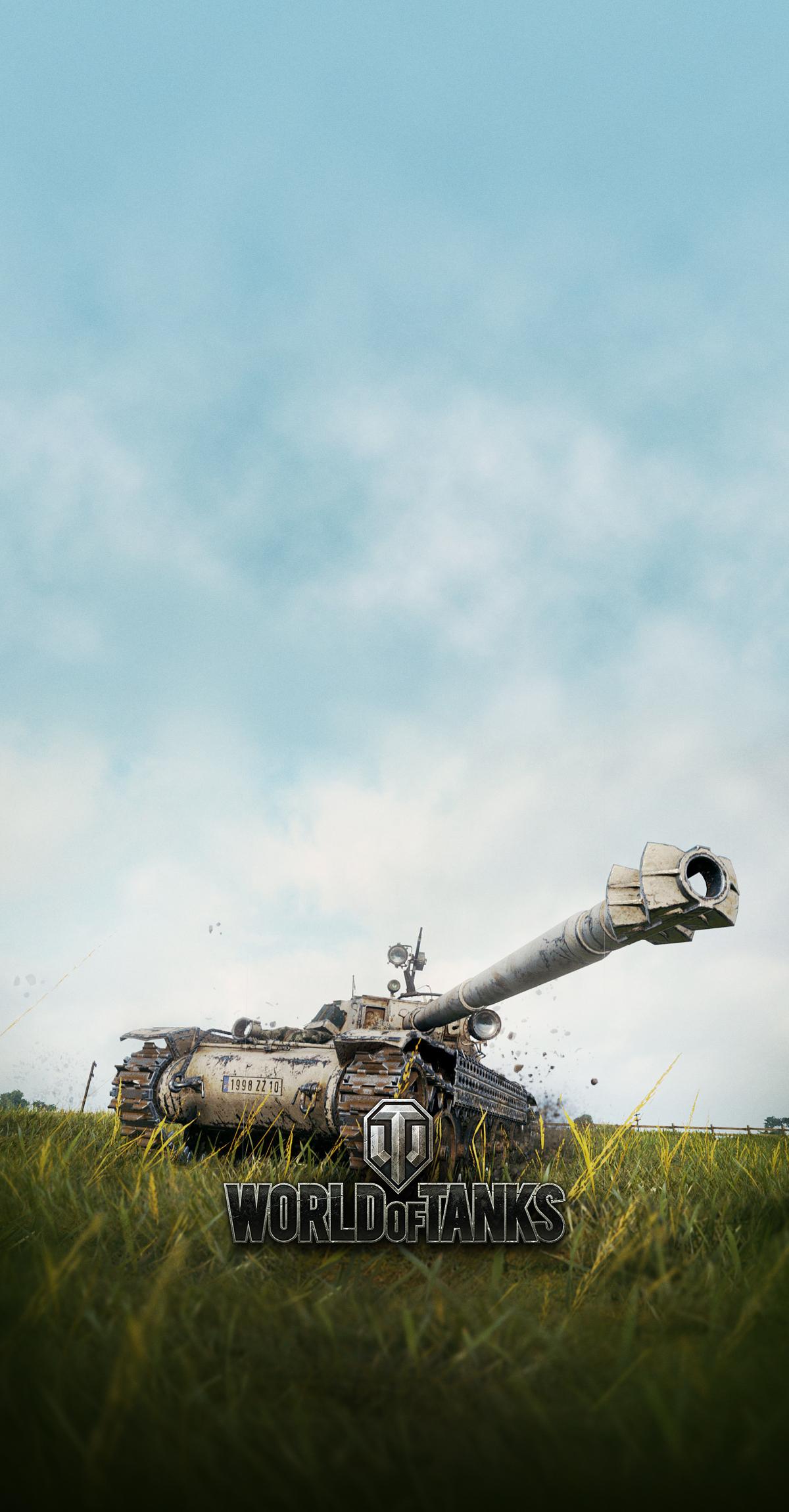 Bat Chatillon Bourrasque スマートフォン用壁紙 World Of Tanks