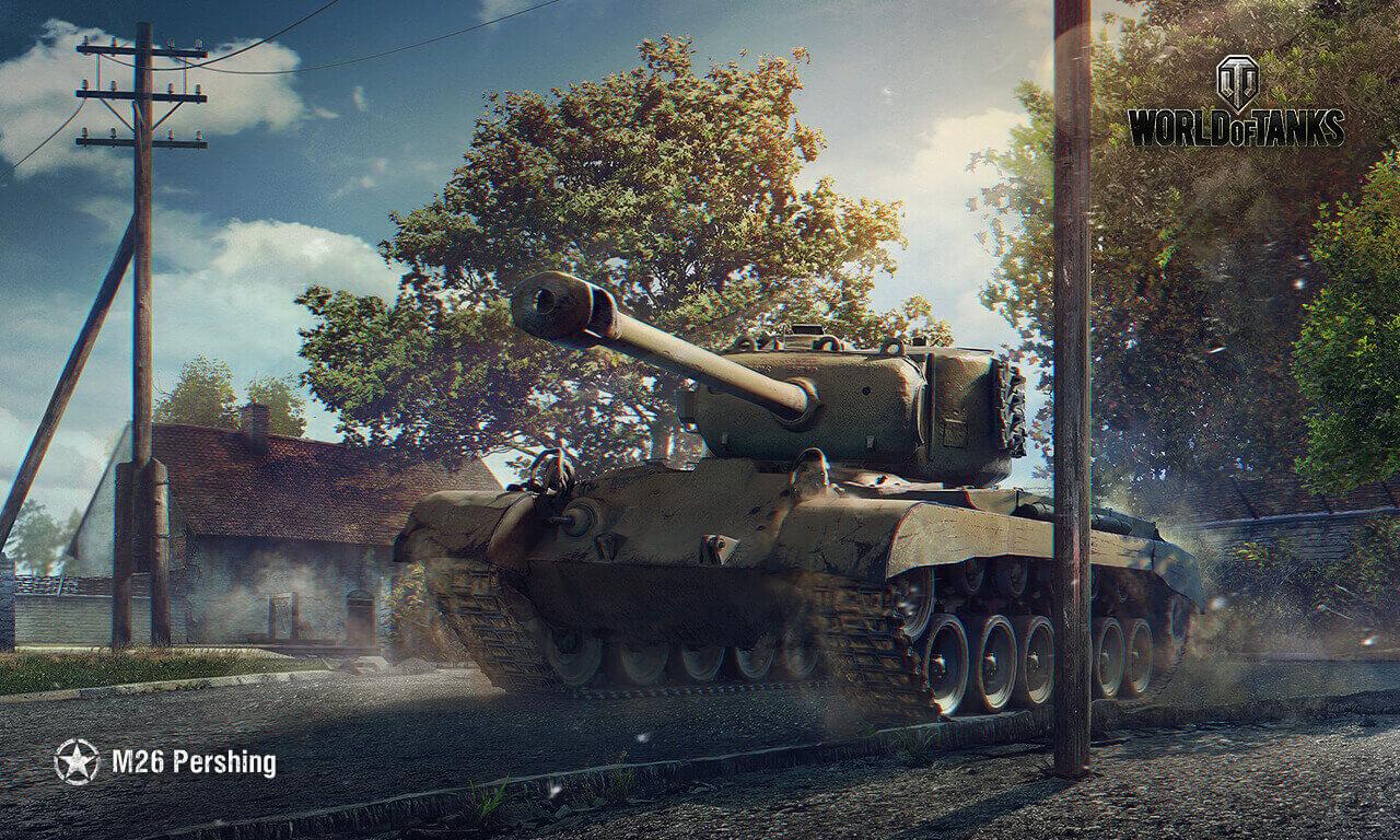15年6月壁紙 M26 Pershing 戦車 World Of Tanks メディア 最高のビデオやアートワーク