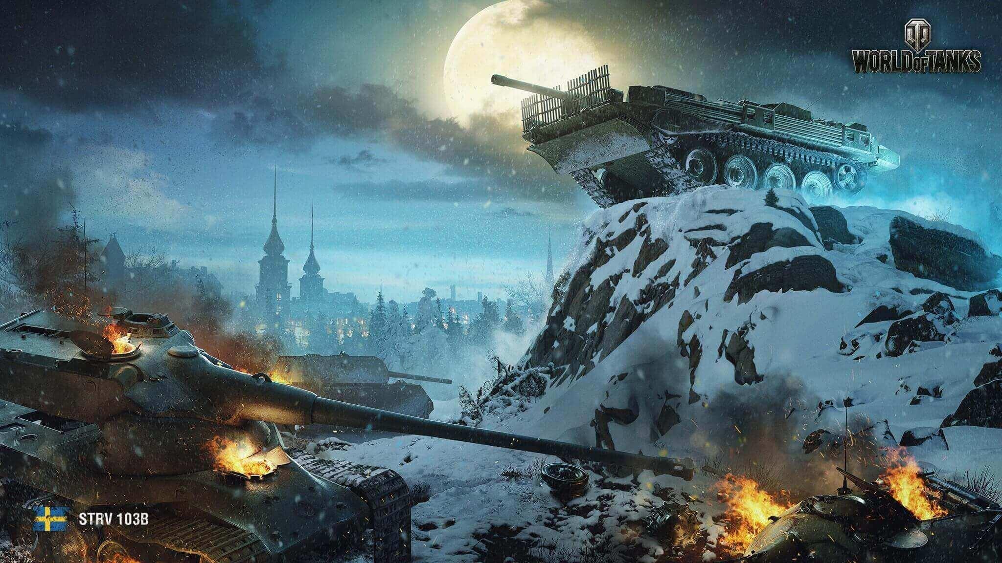 16年12月壁紙 Strv 103b 戦車 World Of Tanks メディア 最高のビデオやアートワーク