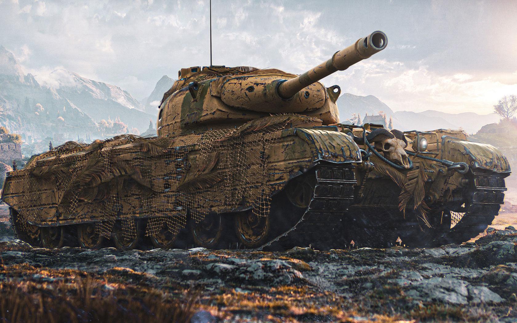 Pc用壁紙 サファリ コラッツァート World Of Tanks 戦車 World