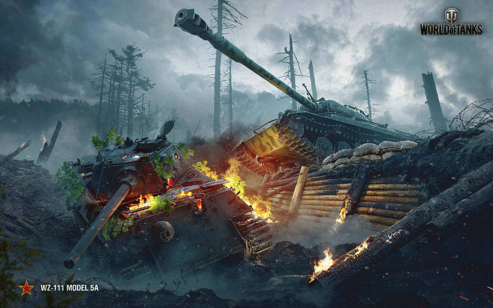 august 2017 wallpaper: wz-111 model 5a | tanks: world of tanks media