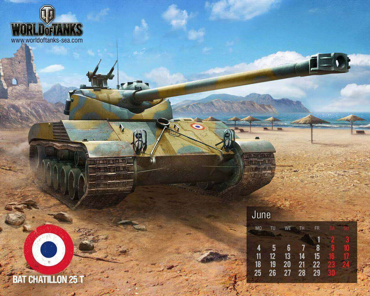June Calendar: Bat Chattilon 25T