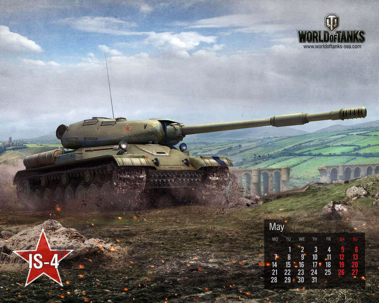 May Calendar: IS-4