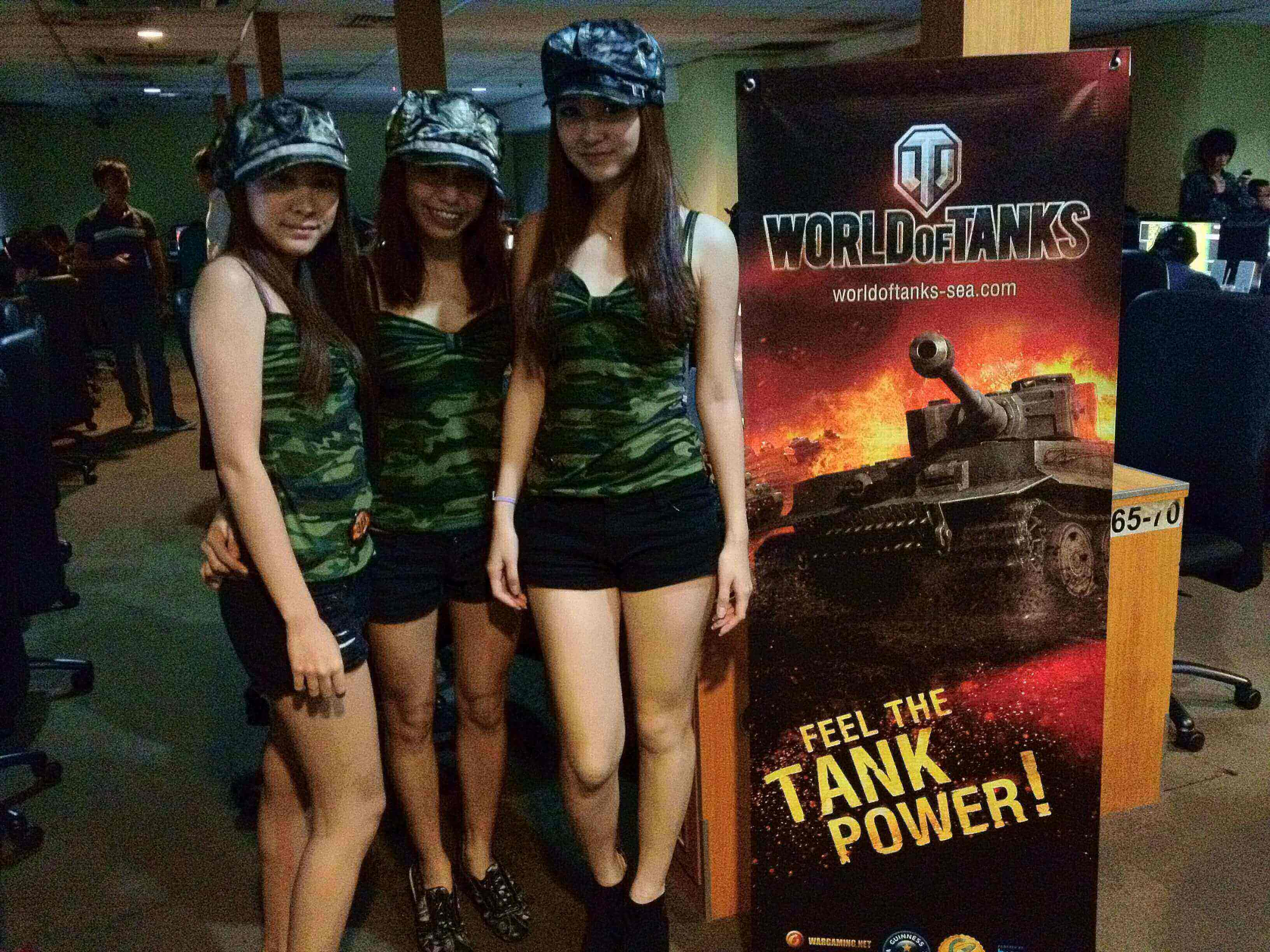 Tank Goddesses Roving Event (20 Apr 2012)