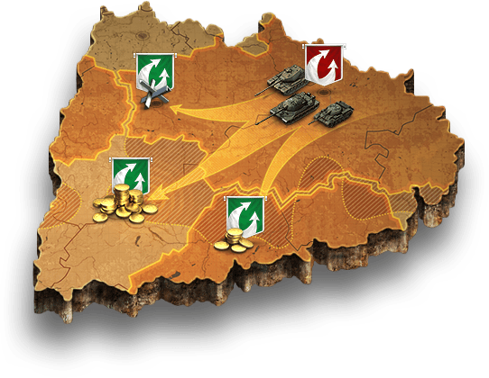 Clan wars clan battles world of tanks global map descriptions learn more about the global map global map gumiabroncs Choice Image